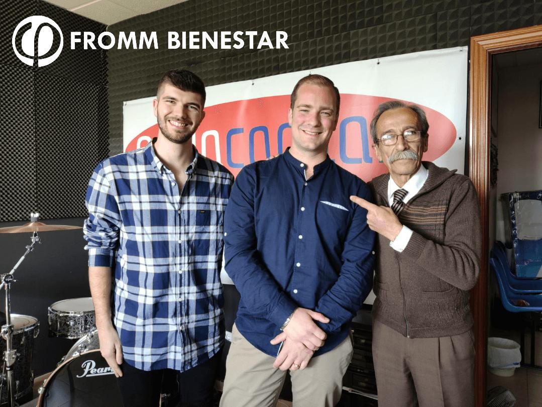 Fromm Bienestar en la radio de Sevilla FM