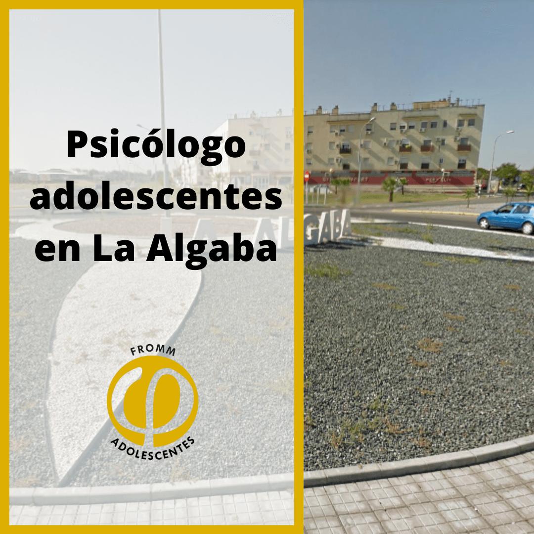 Adolescentes en La Algaba