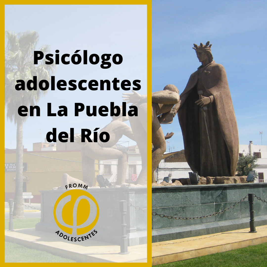 Adolescentes en La Puebla del Rio