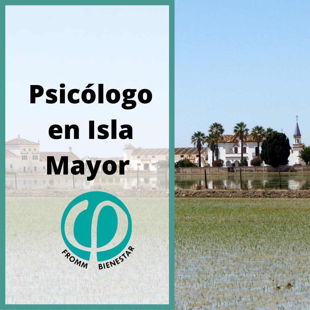 Psicólogo Isla Mayor